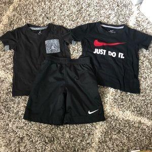 Lot of 3 Nike / Jordan Boy Clothes Size 4T